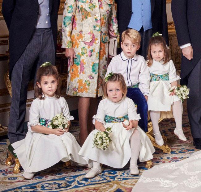 Princess Anne as a little girl Photo C GETTY