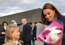 Mums pride at familys meeting with Prince William and Kate Middleton Photo C GETTY IMAGES
