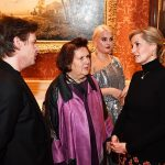 Other designer guests included Christopher Kane as well as Vogue online editor Suzy Menkes