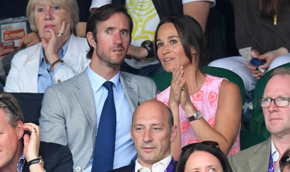 Pippa Middleton baby name Pippa is not a royal so her new born one won't have a royal title Image Getty