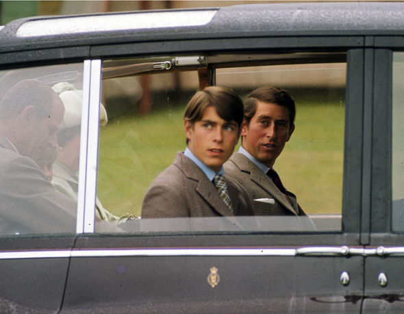 Prince Andrew and Prince Charles attend the Braemar Highland Games on September 15 1975 Image Getty