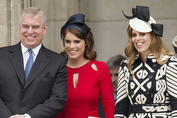 Prince Andrew is facing calls to resign as Chancellor of Huddersfield University Image GETTY