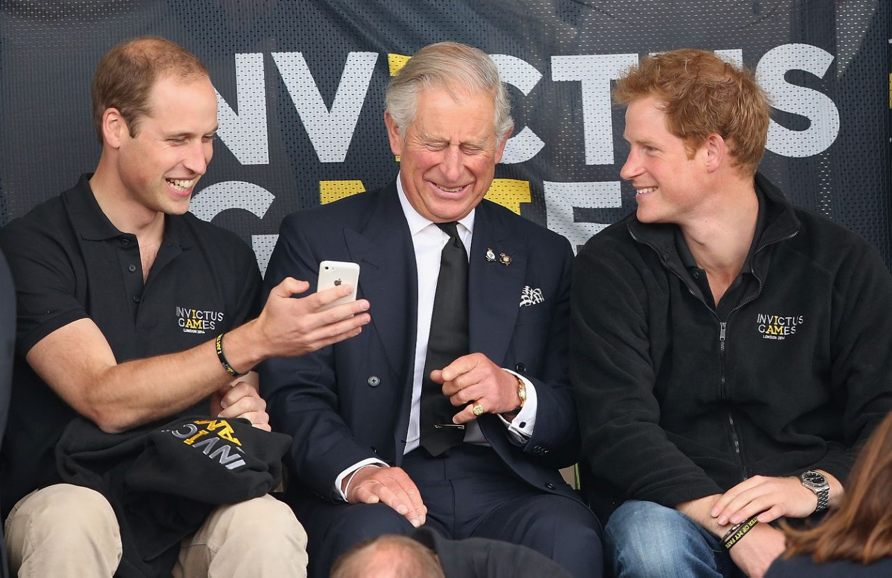 Prince Charles' passion for raising awareness for the issues has obviously rubbed off on his sons with Prince Harry and Prince William also speaking out about climate change Photo Getty Images