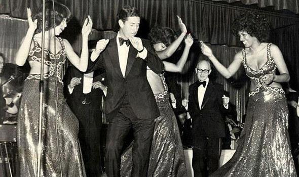 Prince Charles 40th years ago celebrating his 30th Image Doug McKenzie