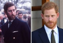 Prince Charles and Prince Harry look remarkably similar in pictures released by the Royal Family Image GETTY