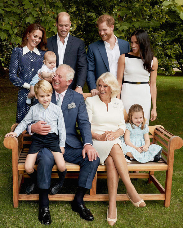 Prince Charles and family Images are part of a set to mark His Royal Highnesss 70th birthday Image Chris Jackson Getty Images for Clarence House