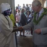 Prince Charles attends an Art Music Dance and Youth Exhibition in Jamestown Ghana Image Arthur Edwards Pool Getty Images