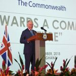 Prince Charles delivered a speech in Accra where he spoke about the impacts of slavery Image GETTY