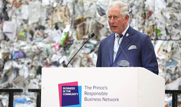 Prince Charles is known to favour a more slimline monarchy Image GETTY