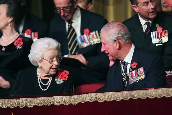 The Queen gives the most touching toast to Prince Charles on his 70th birthday Photo C GETTY