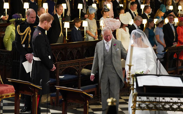 Prince Charles was more than happy to walk Meghan down the aisle at her wedding in May Image Jonathan Brady WPA Pool Getty Images
