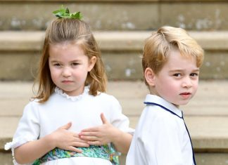 Prince George Princess Charlotte and Prince Louis won't be opening presents on Christmas morning Photo Getty Images