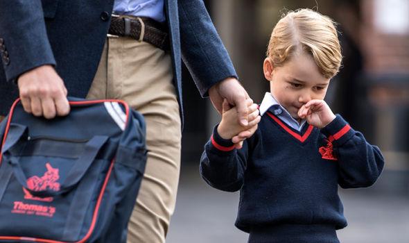 Prince George called Prince Charles Grandpa Wales Image GETTY