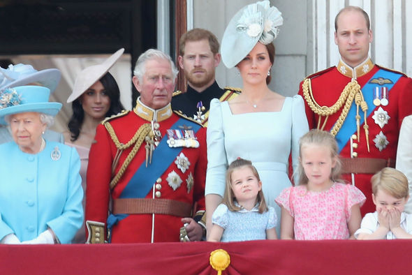 Prince George is a devoted grandfather to his three grandchildren George Charlotte and Louis Image GETTY
