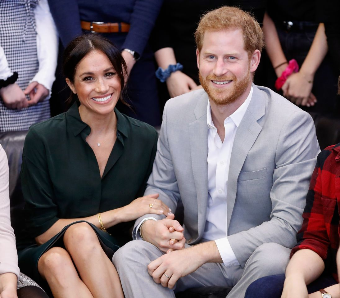 The Christmas tree isn't the only tradition Harry and Meghan will be repeating this year Photo Getty Images
