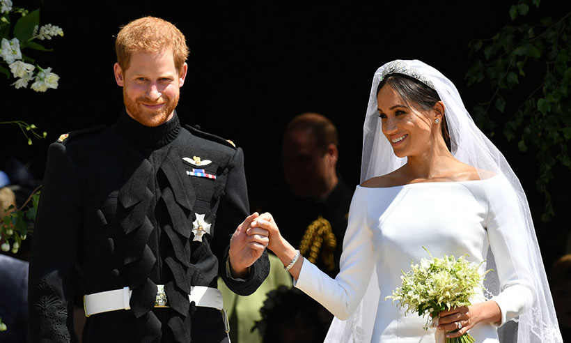 Prince Harry and Meghan Markles aides apologise for late reply following royal wedding Photo C GETTY
