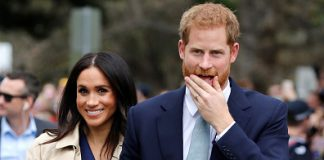 Prince Harry did the cutest thing for Meghan on the royal tour and EVERYONE missed it Photo C GETTY