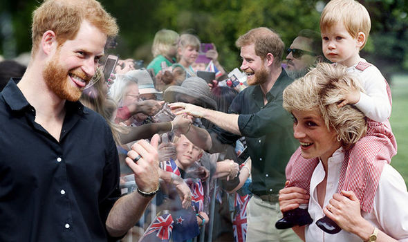 Prince Harry offered some kind words of advice to a youngster in New Zealand Image PA GETTY IMAGES