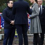 Prince William and Kate Middleton pay respect to Leicester City owner Vichai Srivaddhanaprabha Photo C GETTY IMAGES 06