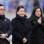 Prince William and Kate Middleton pay respect to Leicester City owner Vichai Srivaddhanaprabha Photo C PA 05