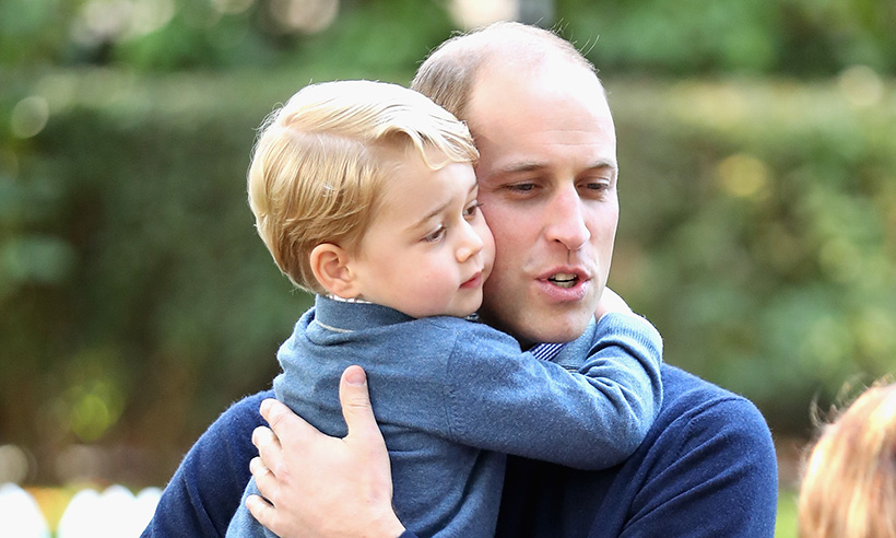 Prince William reveals hes trying to persuade Prince George to watch this classic show Photo C GETTY