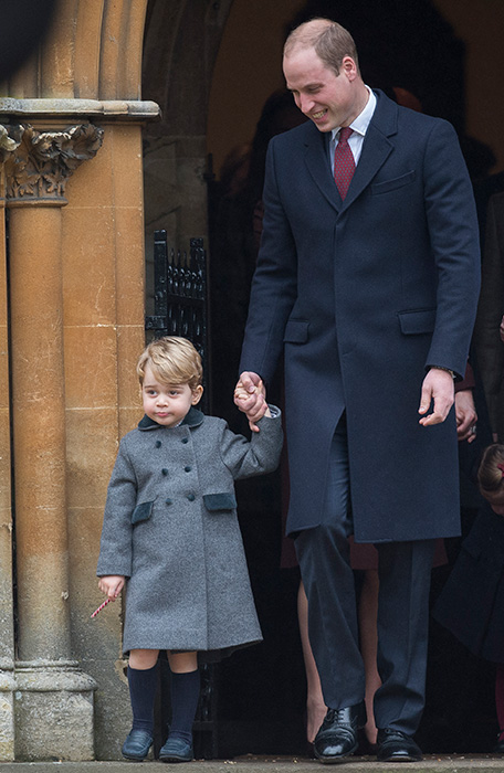 Prince William wants George to watch Danger Mouse Photo C GETTY