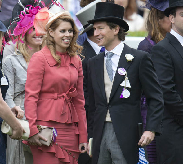 Princess Beatrice was with Dave Clark for ten years Image GETTY