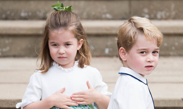 Princess Charlotte Prince George and Prince Louis will not open their presents on Christmas morning Image GETTY