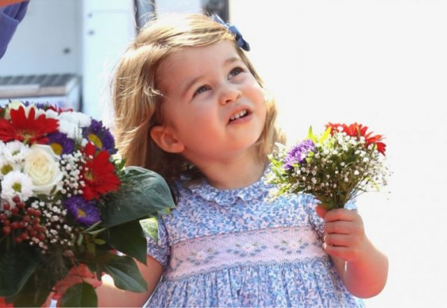 Princess Charlotte of Cambridge Chris Jackson Getty Images