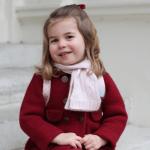 Princess Charlotte on her first day of nursery school Kensington Royal via Instagram