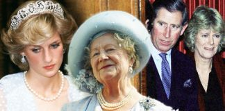 Princess Diana Pirnce Charles Queens Mother and Camilla Photo C GETTY
