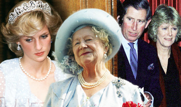 royal bombshell queen mother approved of charles affair with camilla dianalegacy latest update news images videos of british royal family dianalegacy
