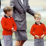 Princess Diana Prince William and Prince Harry Image Getty