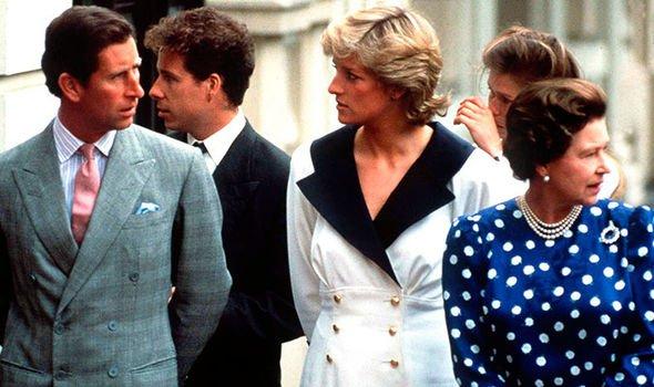 Princess Diana and Prince Charles Image Getty