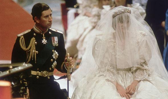 0 Princess Diana and Prince Charles on their wedding day Image Getty