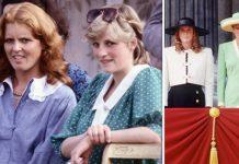 Princess Diana and Sarah Ferguson Image Getty