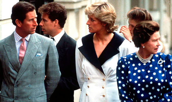 The Queen and Prince Philip blamed Prince Charles for his failed marriage to Princess Diana Image Getty