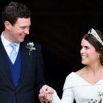 Princess Eugenie married Jack Brooksbank at Windsor Castle last month Image GETTY