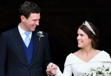 Princess Eugenie married Jack Brooksbank at Windsor Castle last month Image GETTY