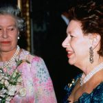 Princess Margaret went through the Queens documents in 1993 Image GETTY