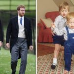 Queen Elizabeth grandchildren Prince William and Prince Harry are two of the Queens grandchildren Image GETTY