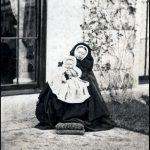 Queen Victoria holding granddaughter Princess Victoria Image BNPS