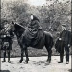 Queen Victoria on horseback at Balmoral 1863 with her friend John Brown on the left Image BNPS
