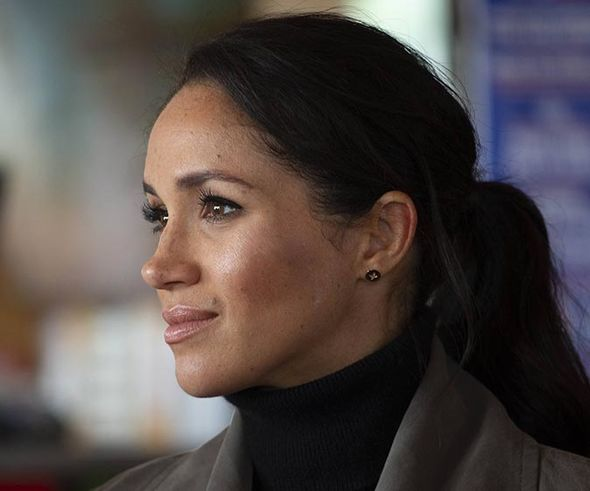 ROYAL BABY Meghan is considered to be having a geriatric pregnancy due to her age Image GETTY
