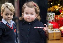 Royal Christmas Prince George and Princess Charlotte wont be opening their gifts on Christmas Day Image GETTY