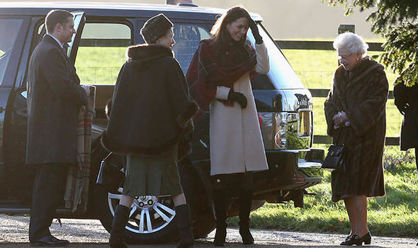 Royal Christmas The royals attend the Church service in Sandringham on Christmas Day Image GETTY