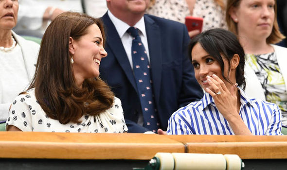 Royal SPLIT Sources insist there is no animosity between Kate and Meghan Image Getty