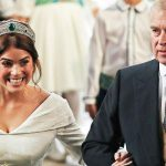 Royal Wedding Prince Andrew walking his daughter down the aisle Image Getty