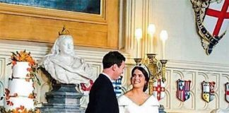 Royal Wedding Someone snuck this picture from the reception Image Instagram british royals