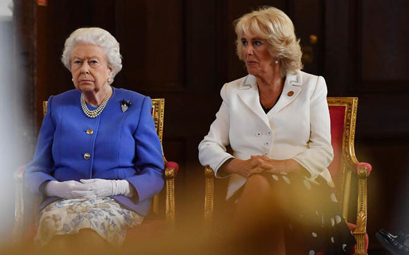 Royal author Tom Bower has claimed the Queens relationship with Camilla never flourished Image Ben Stansall WPA Pool Getty Images